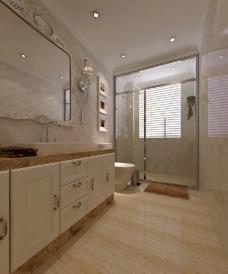 主卧洗手间图片