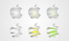 苹果创意标图片
