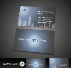 科技名片 创意名片下载 名片设计模板图片