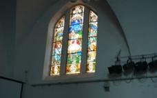 教堂玻璃图片