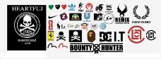 各类潮牌logo图片