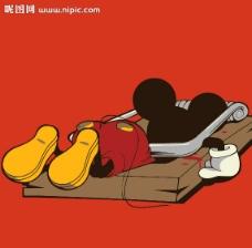 米老鼠矢量图片