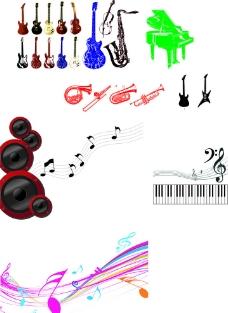 音乐素材图片