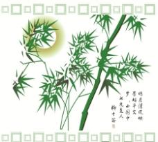 竹叶阳光图片
