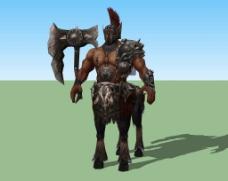 游戏人物3d模型图片